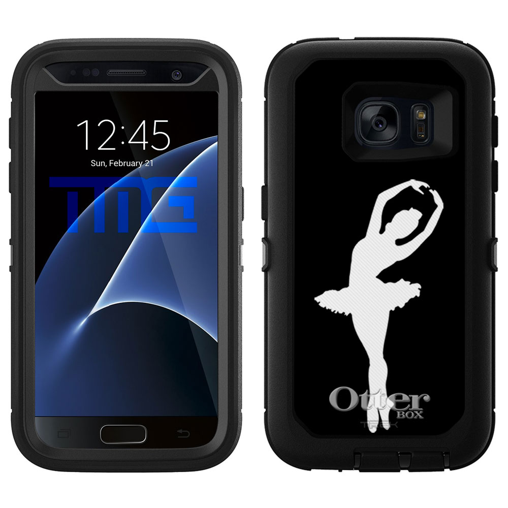 OtterBox Defender Samsung Galaxy S7 Case - Silhouette Bal...