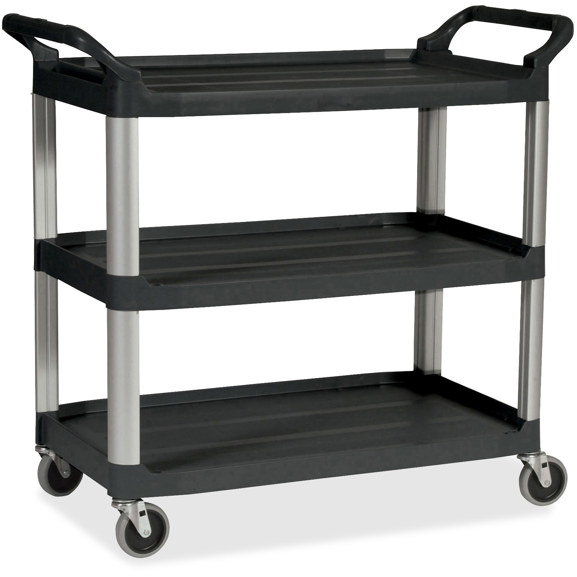 Rubbermaid Commercial, RCP342488BK, Economy Cart, 1 Each, Black by Rubbermaid Commercial Products
