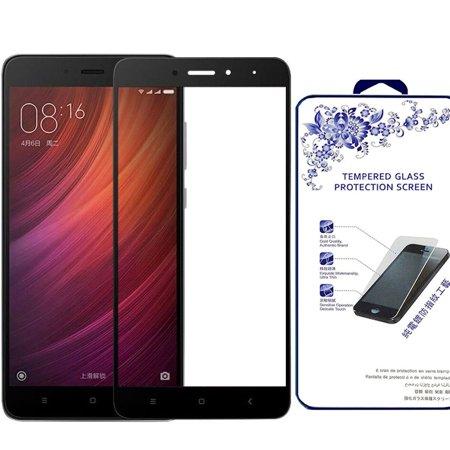 [Black] Premium Tempered Glass Screen Protector For Xiaomi Redmi Note