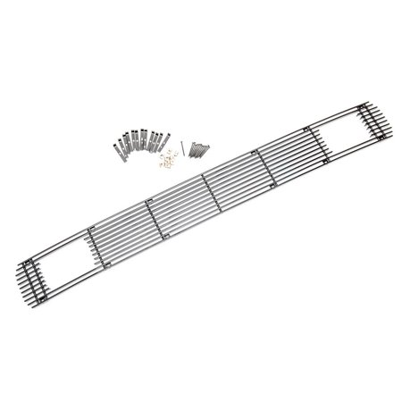 - Sizver Black Polished Lower Bumper Billet Grilles Insert Overlay For 2011-2014 Ford F250/F350/F450/F550