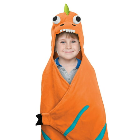 Best Brands Kids Hooded Throw - Dinosaur