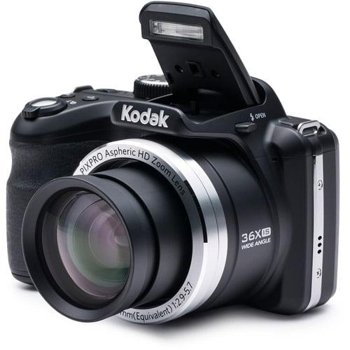 Kodak Black AZ361-BK Digital Camera with 16.15 Megapixels and 36x Optical Zoom by Kodak