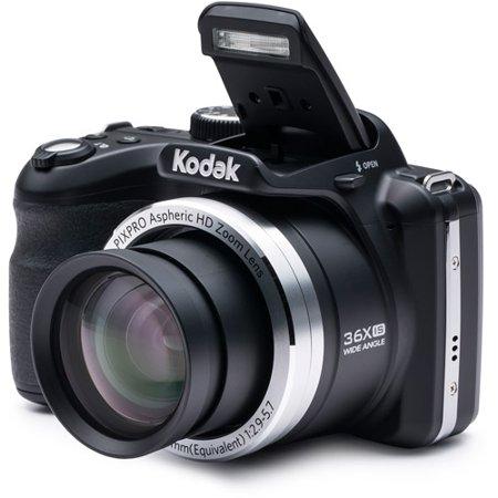 Kodak Black AZ361-BK Digital Camera with 16.15 Megapixels and 36x Optical Zoom