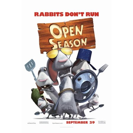 Open Season Poster Movie G Mini Promo