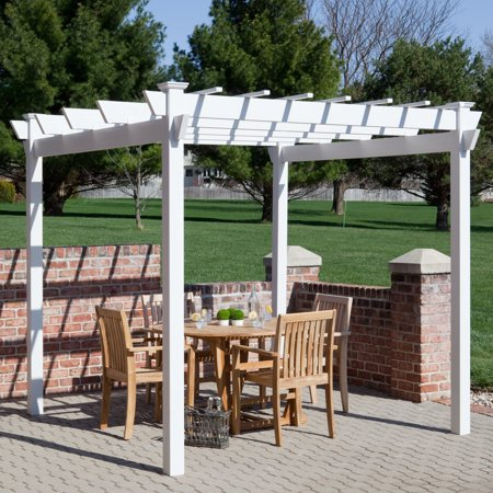 Dura-Trel Kingston 7 x 7 ft. Vinyl Pergola ()