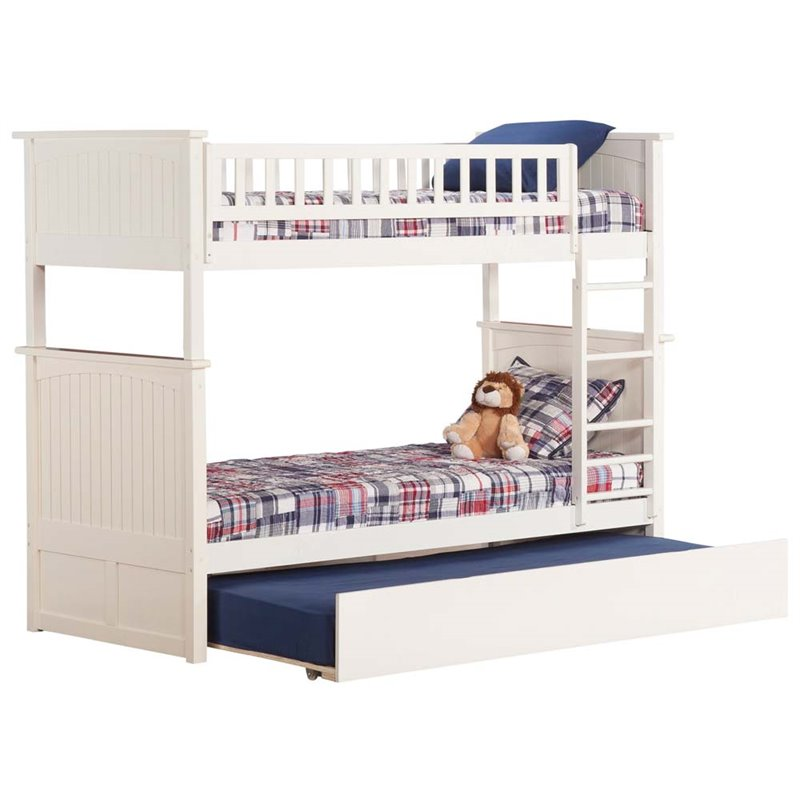Nantucket Bunk Bed Twin over Twin in Multiple Colors and Configurations
