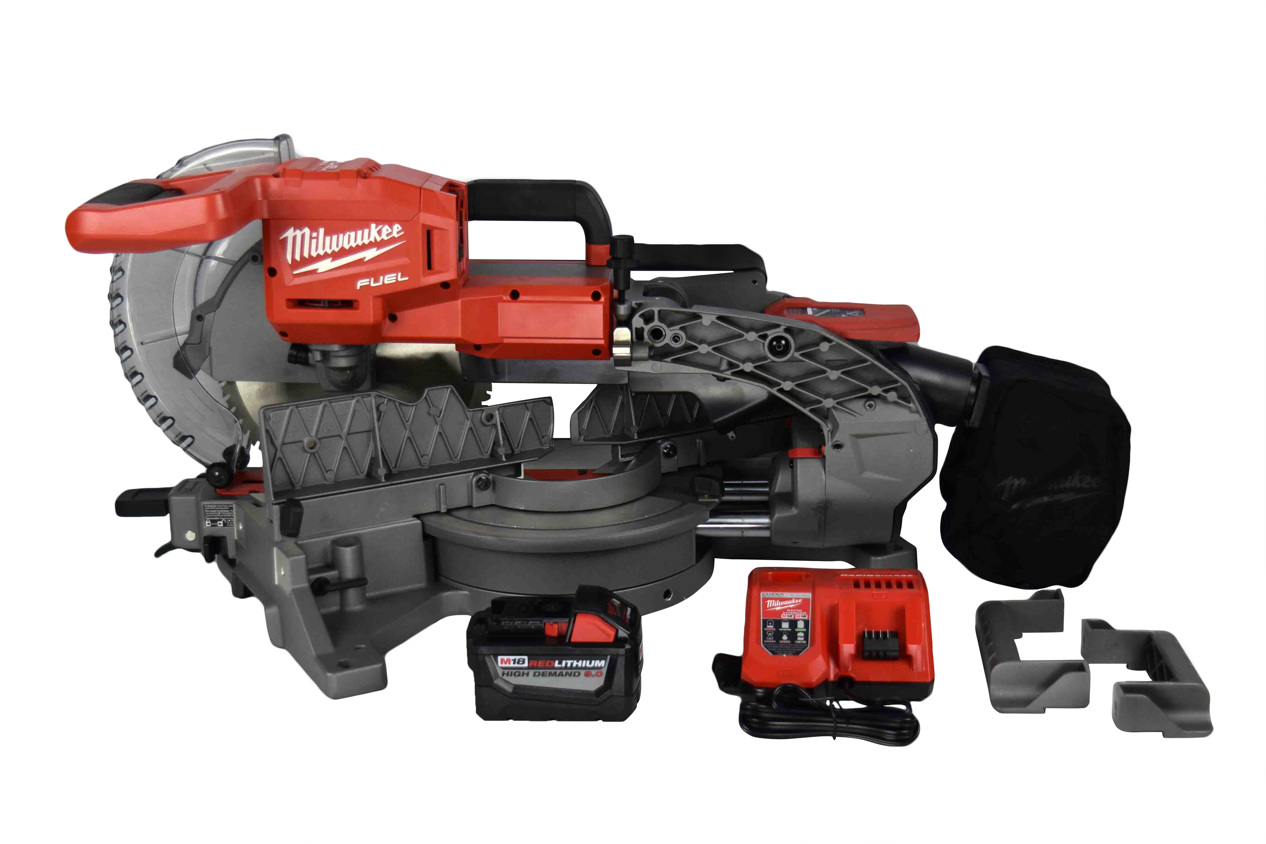 Milwaukee 2734-21HDP Cordless FUEL 18V Dual-Bevel Sliding Compound Miter Saw Kit by Milwaukee