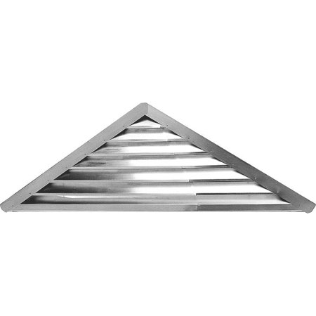 GABLE VENT 26-1/4IN WHT TRG