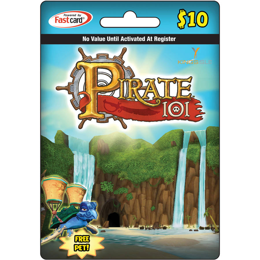 Kingsisle Pirate101 $10 Egift Card (emai ONLINE