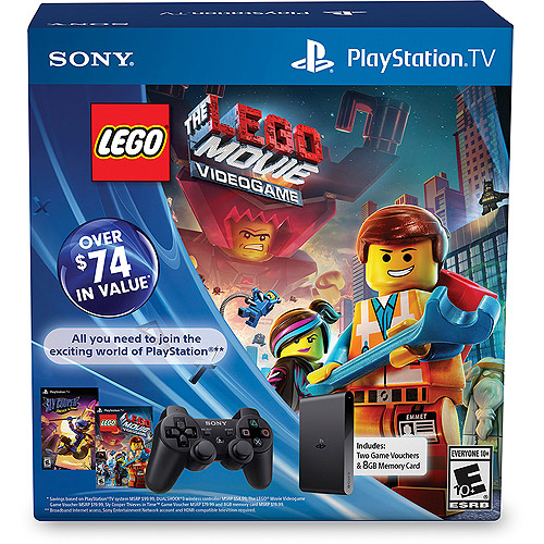 PlayStation TV Limited Edition Bundle with Lego Movie and Sly Cooper ...
