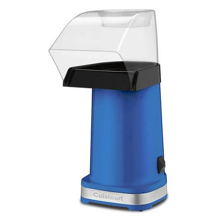 Certified Refurbished Cuisinart EasyPop Popcorn Maker, Blue (CPM-100BLSLT) ()