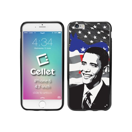 Cellet TPU/PC Proguard Case with Barack Obama for Apple iPhone 6
