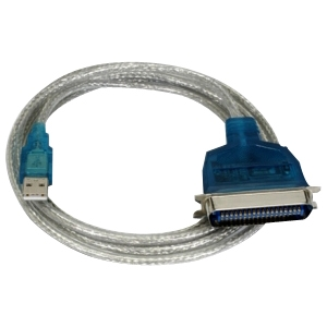 SABRENT USB PRINTER CABLE 6 FT USB A MALE CENTRONICS 36M PARALLEL