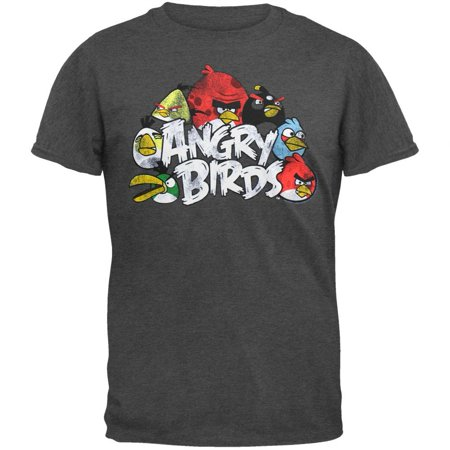 Angry Birds - The Nest Soft T-Shirt - Gra Angry Birds Halloween Boxes