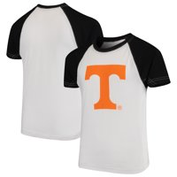 Tennessee Volunteers Wes & Willy Youth Swim Rash Guard T-Shirt - White/Black