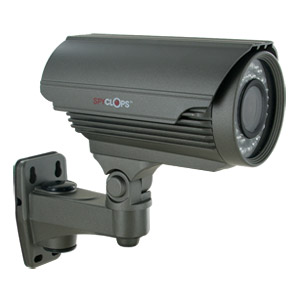 Outside Security Camera, Spyclops Uni-mount Bullet Outdoor Cctv Home Camera,  Gray