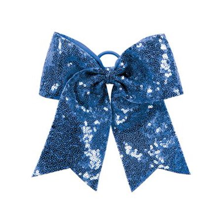Augusta Sequin Cheer Hair Bow - Halloween Cheer Bows