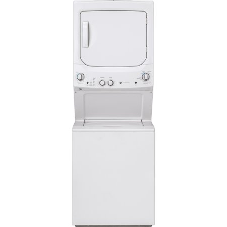GE Unitized Spacemaker 3.8 DOE cu. ft. Stainless Steel Washer and 5.9 cu. ft. Electric Dryer