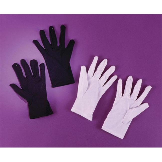 Costumes For All Occasions Fw8176Wt Gloves Theatrical Child Wt
