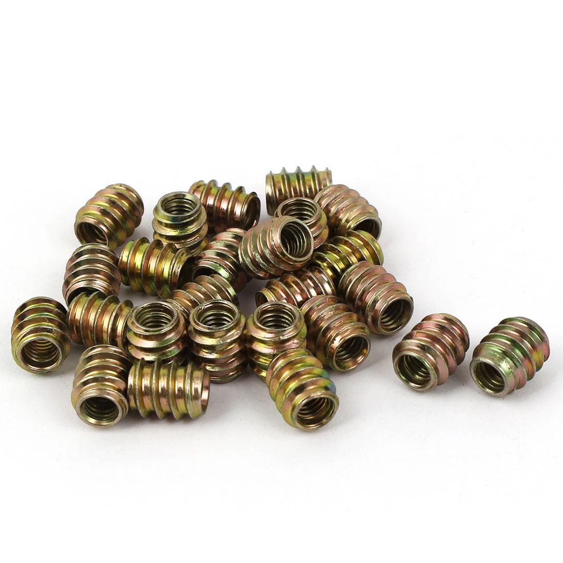 M6x 13mm Meubles Insert e-nuts Lot de 25pour meubles en bois - image 1 de 1