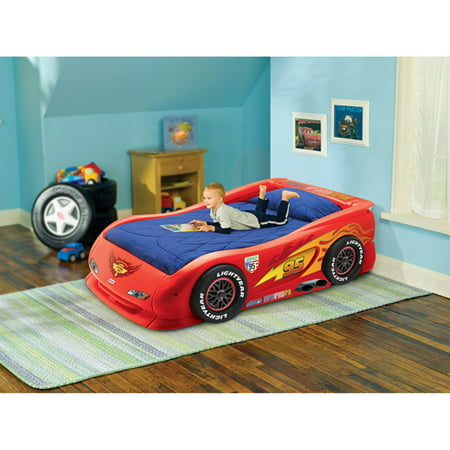 Disney Cars Lightning Mcqueen Twin Bed