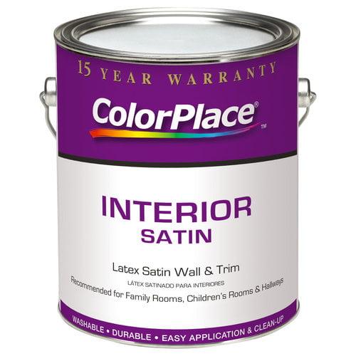 ColorPlace Interior Satin Medium Base Paint, 1 gal