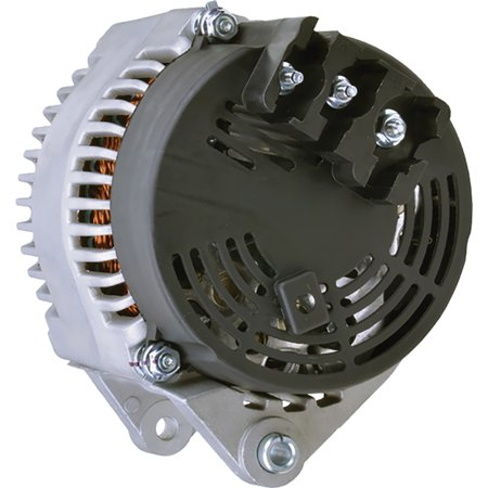 New DB Electrical ROTA0192 Alternator for 100 amp Internal Fan Type Internal Regulator 12V Caterpillar 414E, 416EST, 422E, C4.4, C6.6 102211-8121, 102211-8120, 63377463, 225-3144, 383-2556 (New Alternator Regulator)