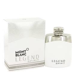 Montblanc Legend Spirit by Mont Blanc Eau De Toilette Spray 3.3 (Mont Blanc Legend Eau De Toilette Spray)