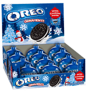 Oreo Chocolate Sandwich Cookie Ornaments, 12 ct