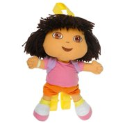 Plush Backpack - Dora the Explorer - Plush Doll Bag New Soft Doll Toys de12346