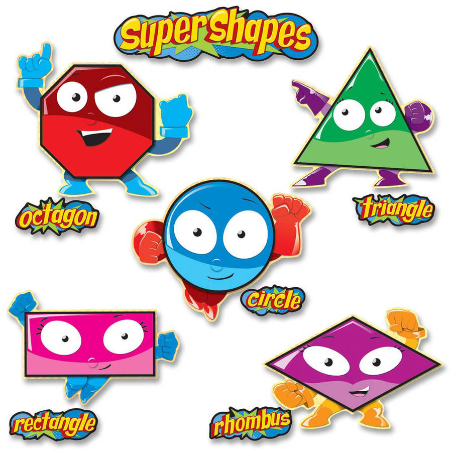 Carson-Dellosa Super Shape Bulletin Board Set