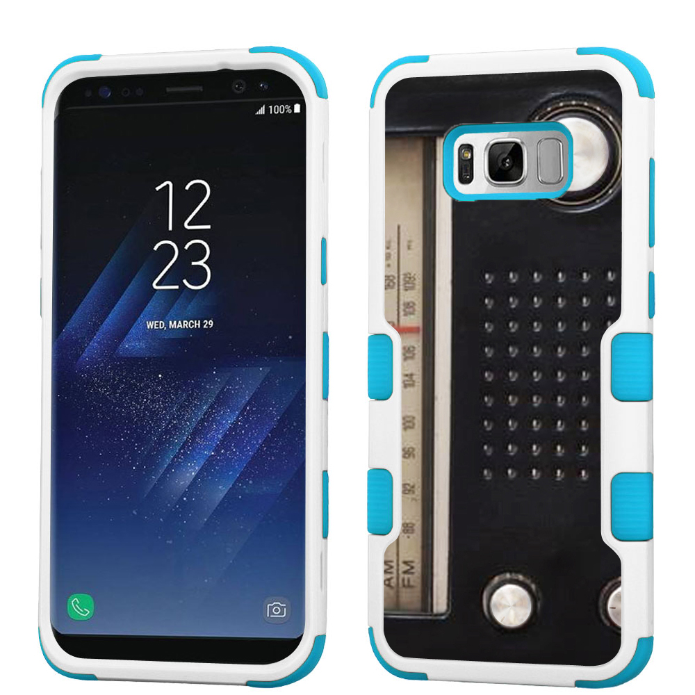 Hybrid Case for Samsung Galaxy S8 PLUS / S8+, OneToughShield ® 3-Layer Shock Absorbing Phone