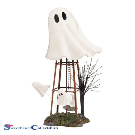 Department 56 Halloween Village Haunted Ghost Water Tower Sale