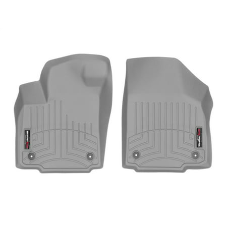 WeatherTech 2017+ Honda CR-V Front FloorLiner - Grey (Fits Both 2WD and AWD)