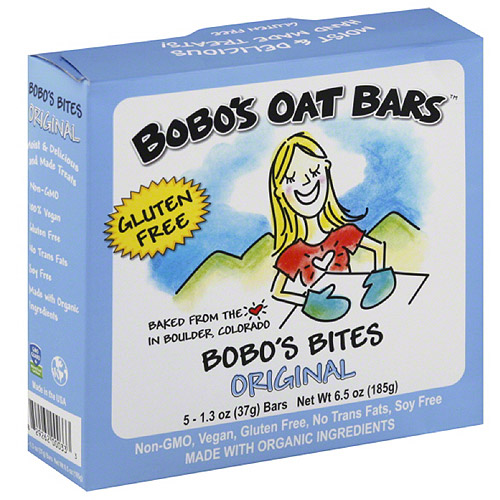 Bobo's Oat Bars Original Bobo's Bites, 6.5 oz, (Pack of 6)