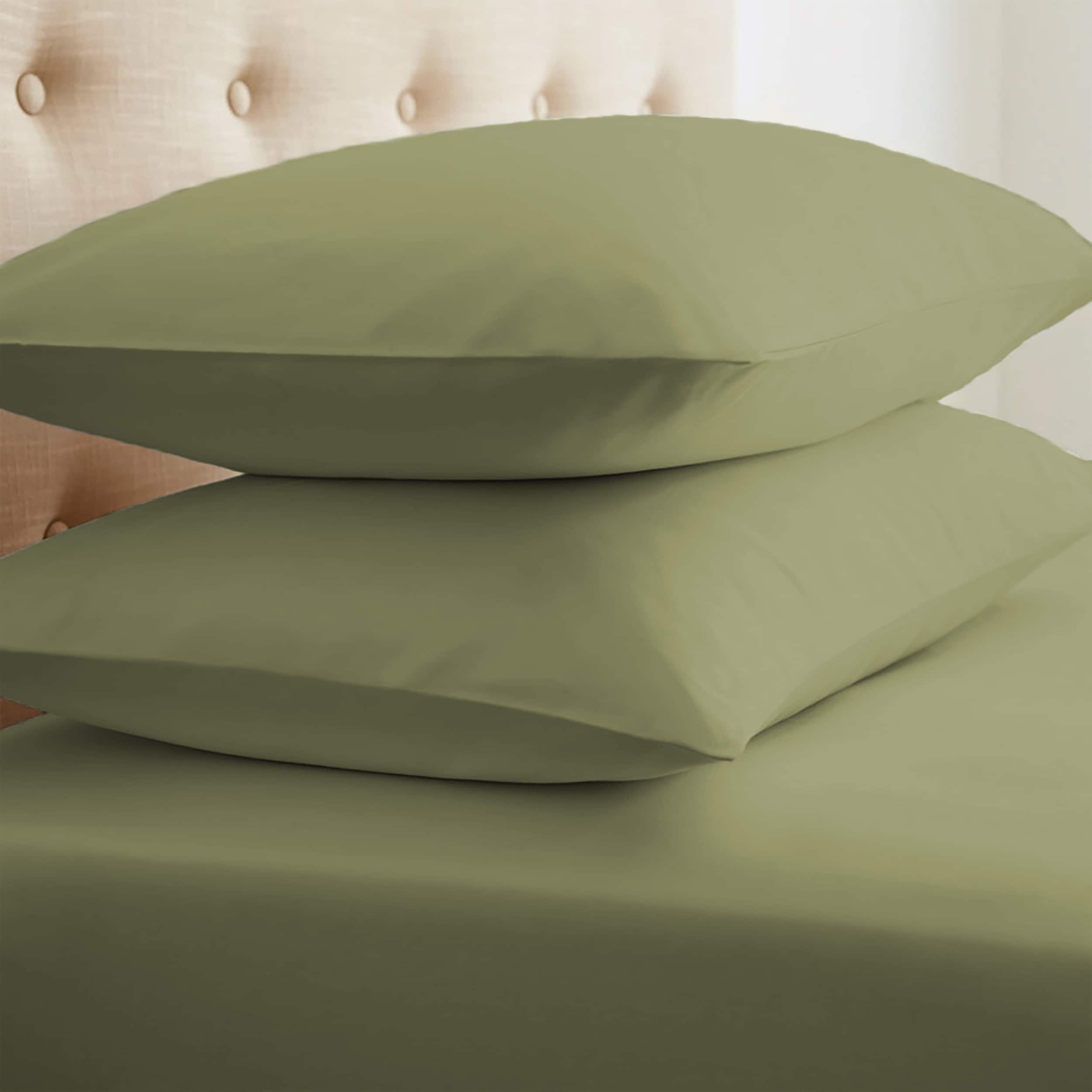 Merit Linens Premium Ultra Soft 2 Piece Pillow Case Set