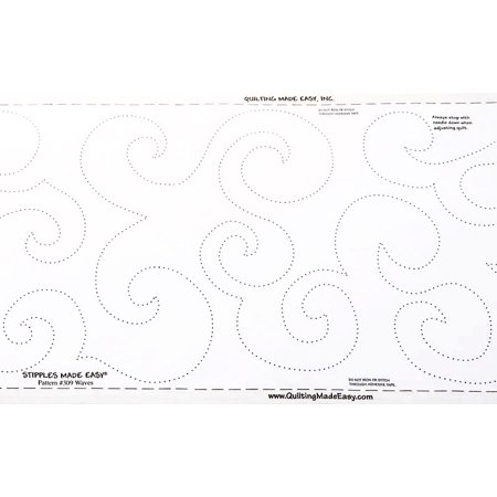 Quilting Made Easy Border (Quilt Pattern On A Roll Wide Waves 309 9 1/2 Inches x 26)
