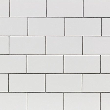 Subway Tile Seavish White Fc Energy Kitchen Backsplash Sticker L And Stick Floor