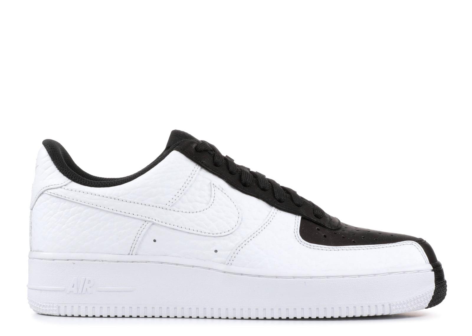 Men's Nike Air Force 1 Low '07 LV8 'Split' Black & White 905345-004 -  Walmart.com