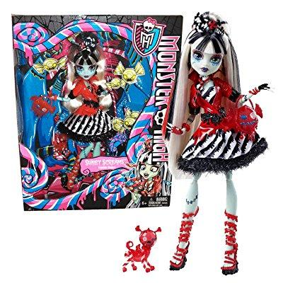 monster high sweet screams frankie stein