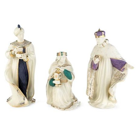 Lenox First Blessing Nativity The Three Kings, Set of 3 (First Blessing Nativity Set)