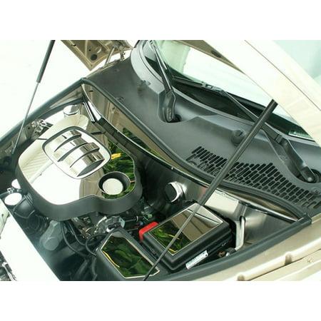 (2006-2010 Chevrolet HHR, Engine Shroud Kit Polished w/Caps, American Car Craft)