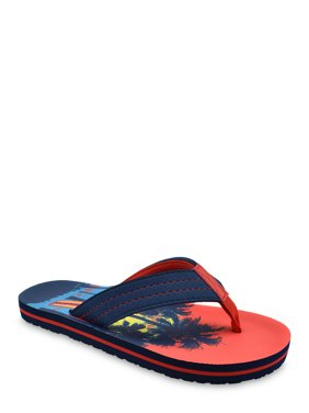 Wonder Nation Sunset Beach Flip Flop (Little Boys & Big Boys)