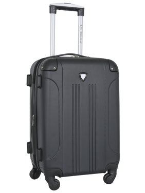 "Travelers Club Chicago 20"" Hardside Rolling Carry On Luggage"