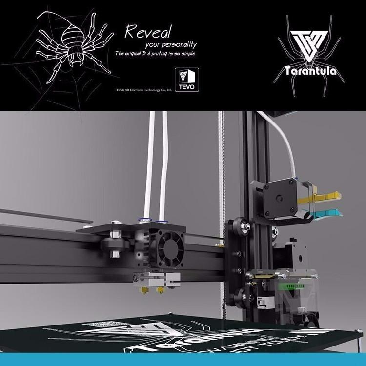 TEVO Tarantula 3D Printer (optional upgrades) + BONUS Titan Extruder + GIFTS