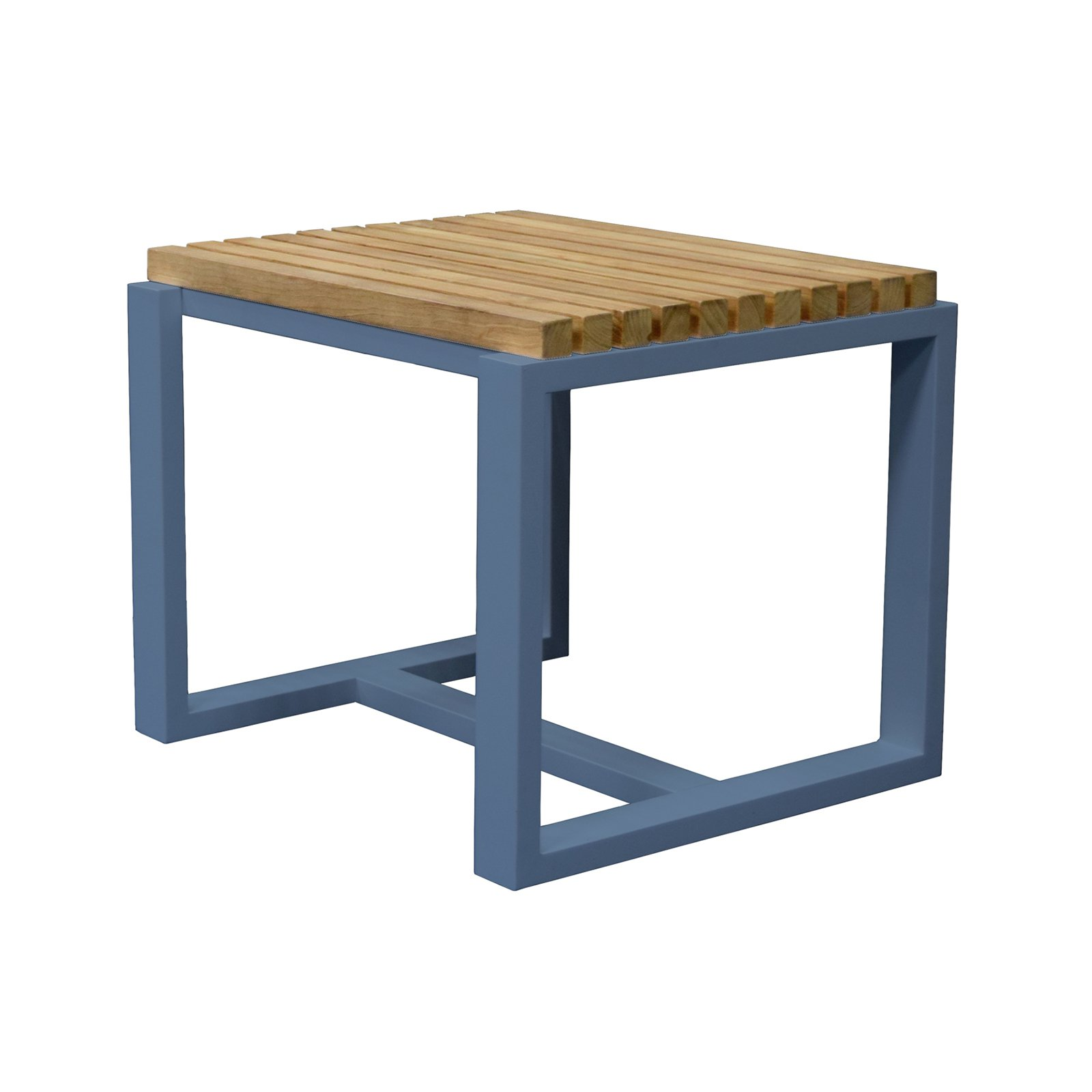 Asta Home Furnishings California Room Aspen Style Teak/Iron Patio Side Table