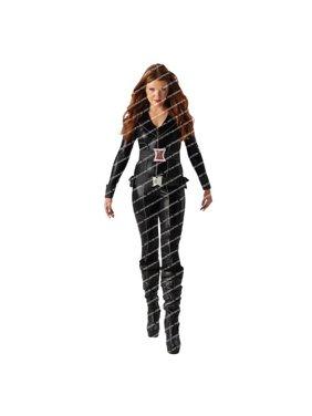 Morris Costumes RU620044SM Black Widow Child Dlx Small