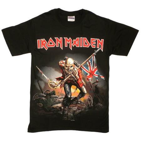 Iron Maiden Trooper T-Shirt - Faire Maiden