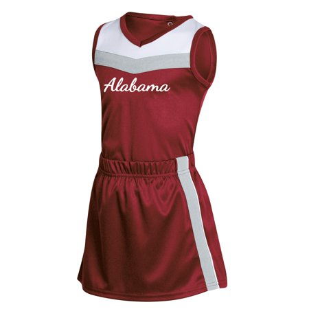 Diy Russell Up Costume (Girls Toddler Russell Athletic Crimson Alabama Crimson Tide 3-Piece Cheer)