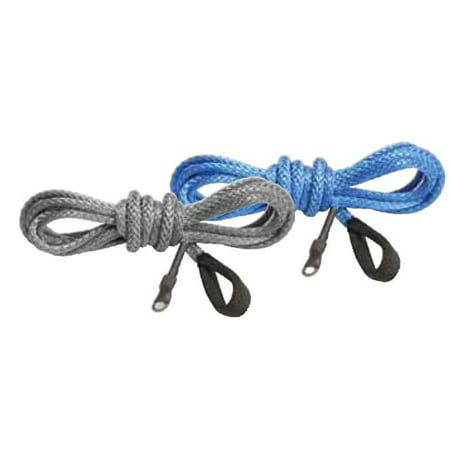 KFI Products SYN19-B50 Synthetic Winch Line - 3/16in x 50ft - (Blue Winch Line)